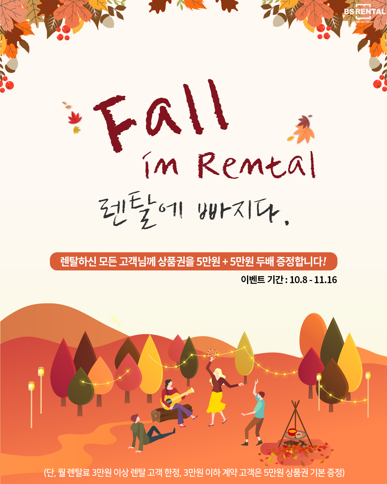 Fall in rental